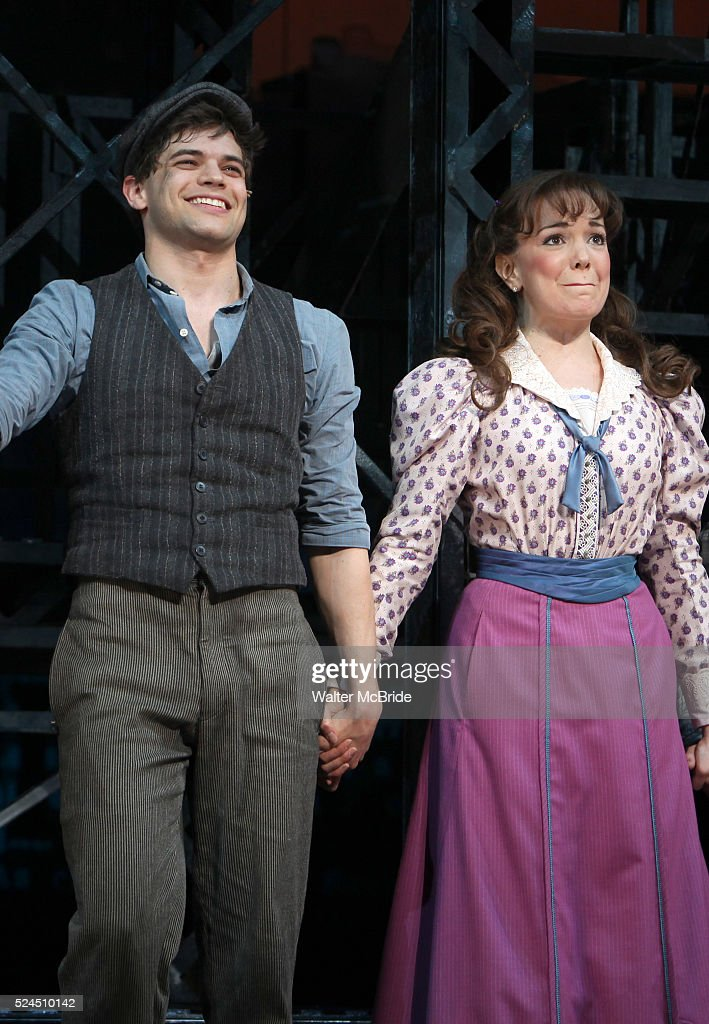usa newsies opening night curtain call pictures getty images