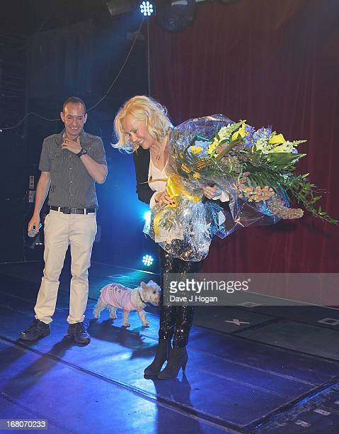 Jeremy Joseph and Agnetha Faltskog of ABBA makes a public appearance at GAY on May 4 2013 in London England