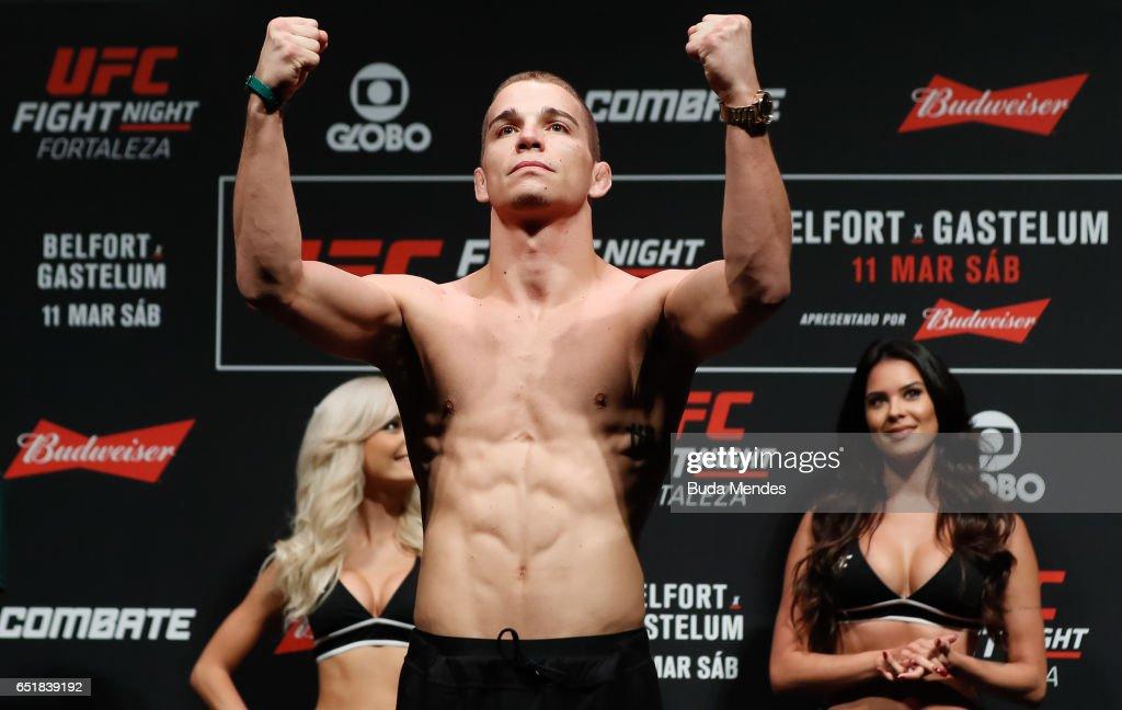 UFC Fight Night: Belfort v Gastelum Weigh-ins : News Photo