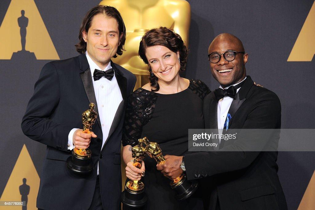 89th Annual Academy Awards - Press Room : News Photo