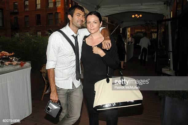 Jeremy Kost and Kelly Cutrone attend LONGCHAMP 60th Anniversary Celebration Featuring Art Installation by Artist JeanLuc Moerman at La Maison Unique...