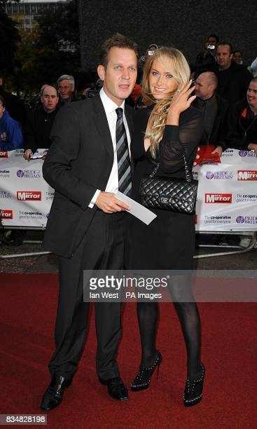 Jeremy Kyle and Carla Germaine arrive for the Pride of Britain Awards at the London Television Centre Upper Ground SE1