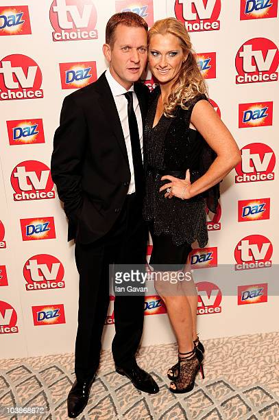 Jeremy Kyle and Carla Germaine arrives at the TV Choice Awards 2010 at The Dorchester on September 6 2010 in London England