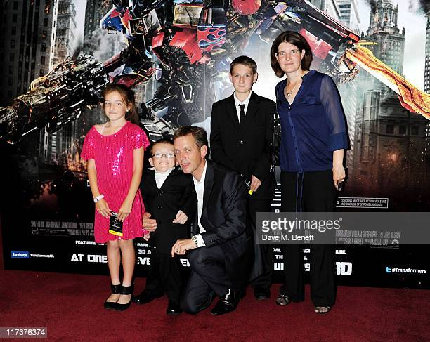 Jeremy Kyle and guests arrive at the UK Premiere of Transformers Dark Of The Moon at BFI IMAX on June 26 2011 in London England