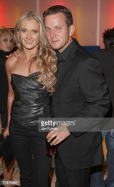 Jeremy Kyle and wife attend the premiere of 'Rise of the Footsoldier' at the Vue West End on September 05 2007 in London England
