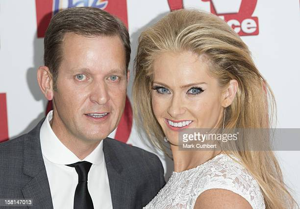Jeremy Kyle And Wife Carla Arriving At The Tv Choice Awards 2012 At The Dorchester Hotel In London