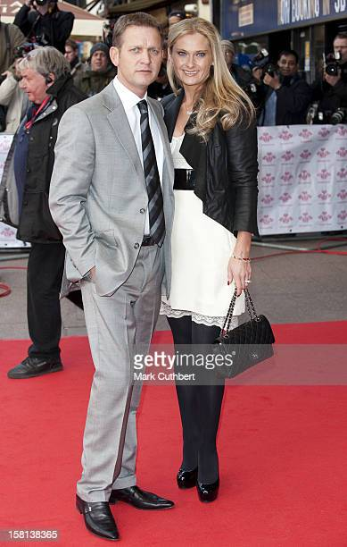 Jeremy Kyle And Wife Carla Germaine Arrive At The Prince'S Trust Celebrate Success Awards At The Odeon Leicester Square London