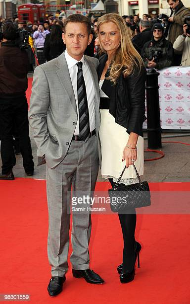 Jeremy Kyle and wife Carla Germaine arrive at The Prince's Trust Celebrate Success Awards at the Odeon Leicester Square on March 1 2010 in London...