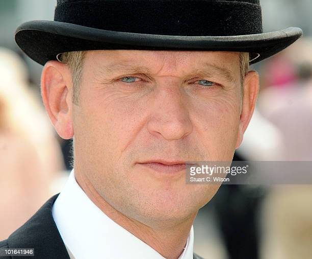 Jeremy Kyle attends Derby Day the second day of the Epsom Derby on June 5 2010 in Epsom England