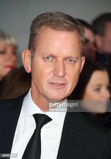 Jeremy Kyle attends the 21st National Television Awards at The O2 Arena on January 20 2016 in London England