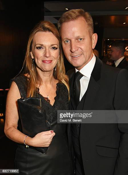 Jeremy Kyle attends the National Television Awards cocktail reception at The O2 Arena on January 25 2017 in London England
