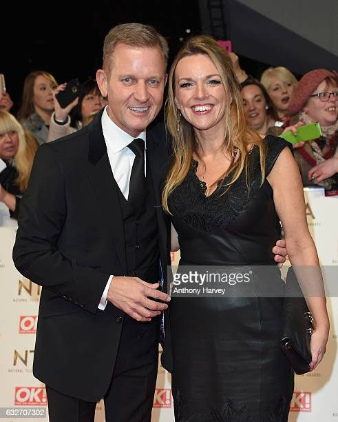 Jeremy Kyle attends the National Television Awards on January 25 2017 in London United Kingdom
