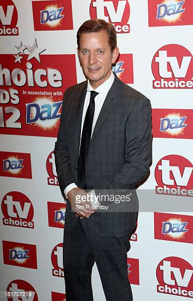 Jeremy Kyle attends the TV Choice awards 2012 at The Dorchester on September 10 2012 in London England