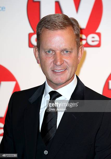 Jeremy Kyle attends the TV Choice Awards 2015 at Hilton Park Lane on September 7, 2015 in London, England.