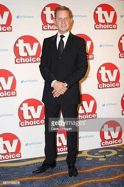 Jeremy Kyle attends the TV Choice Awards 2015 at Hilton Park Lane on September 7 2015 in London England