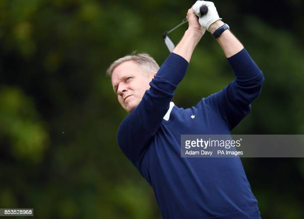 Jeremy Kyle during the Pro/Am for the BMW PGA Championship at the Wentworth Club Surrey