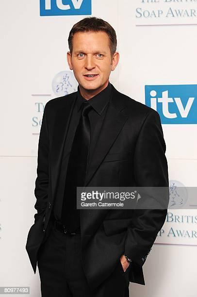 Jeremy Kyle poses at the British Soap Awards 2008 at BBC Television Centre on May 3 2008 in London England