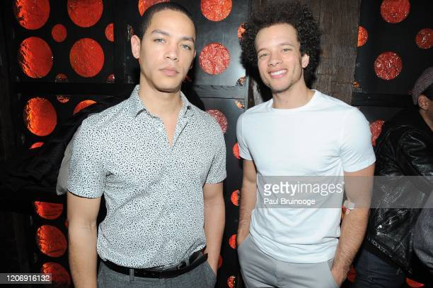 Jeremy L Carver and Damon J Gillespie attend Sony Pictures Classics And The Cinema Society Host A Special Screening Of The Climb at iPic Theater on...