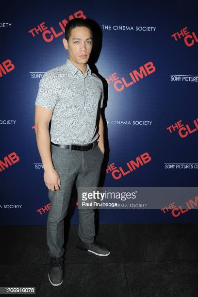 Jeremy L Carver attends Sony Pictures Classics And The Cinema Society Host A Special Screening Of The Climb at iPic Theater on March 12 2020 in New...
