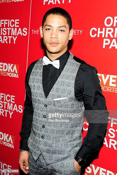 "Jeremy L. Carver attends the Paramount Pictures with Paramount Pictures with The Cinema Society & Svedka Host a Screening of ""Office Christmas Party""..."