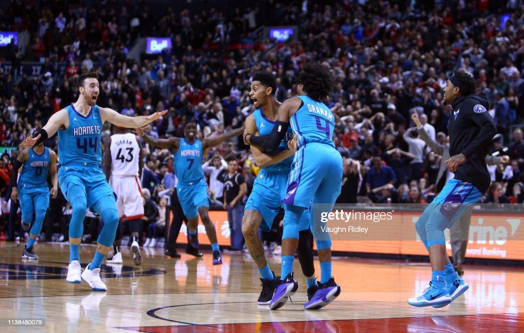 Charlotte Hornets v Toronto Raptors : News Photo