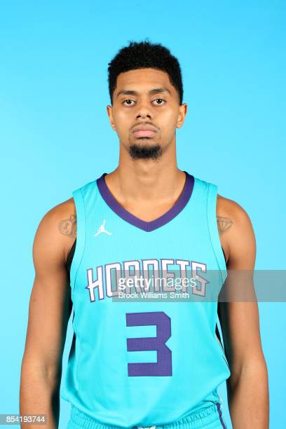 Jeremy Lamb of the Charlotte Hornets poses for a head shot during media day at Spectrum Center in Charlotte North Carolina NOTE TO USER User...