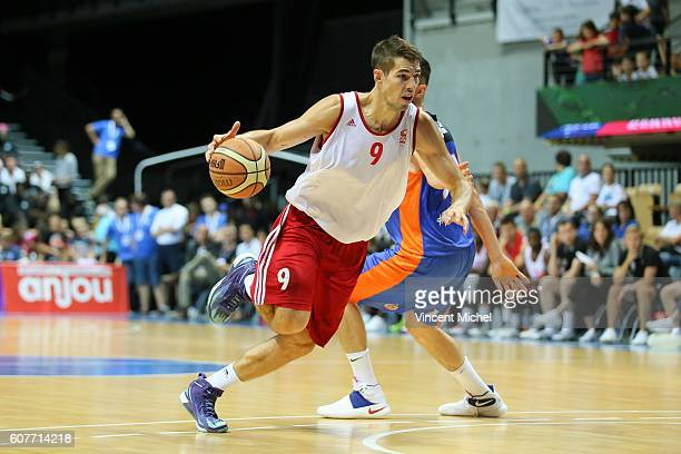 Jeremy Leloup of Strasbourg during the Final match between Strasbourg and Gravelines Dunkerque at Tournament ProStars at Salle Arena Loire on...