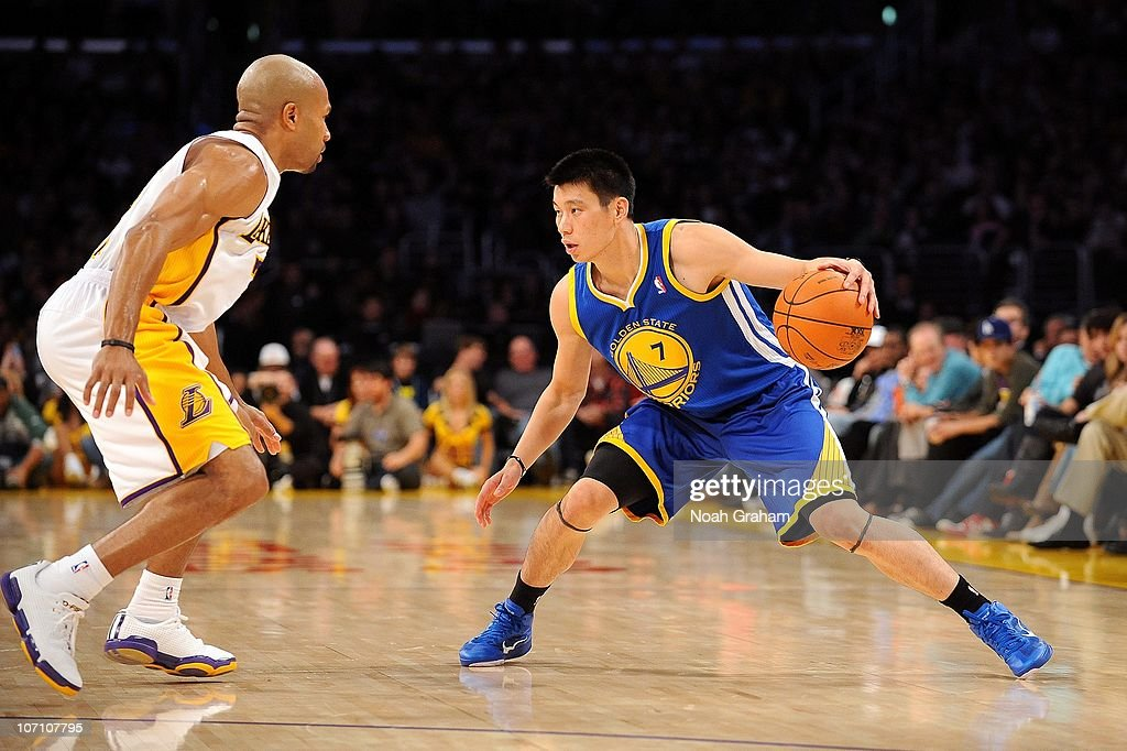 release date: 7e620 a7eeb Jeremy Lin of the Golden State Warriors handles the ball ...