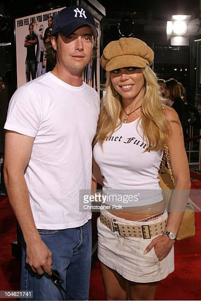 Jeremy London and Melissa Cunningham during 'Malibu's Most Wanted' Premiere at Graumans Chinese Theater in Hollywood CA United States