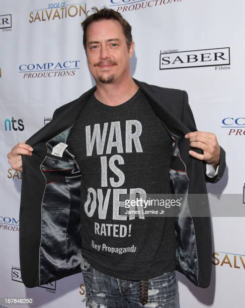 Jeremy London attends the 'Edge Of Salvation' Los Angeles Premiere held at the ArcLight Sherman Oaks on December 6 2012 in Sherman Oaks California