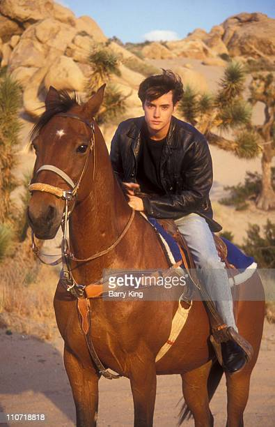 Jeremy London during Jeremy London Portrait Shoot at Mojave Desert in Mojave California United States