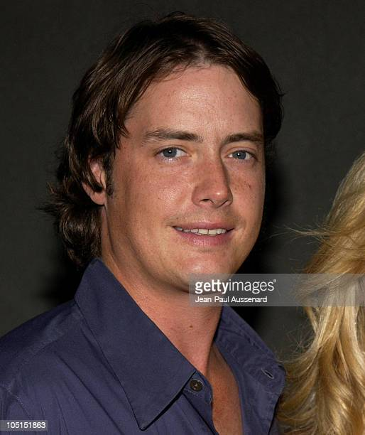 Jeremy London during The WB Network's 2003 All Star Party at White Lotus in Hollywood California United States