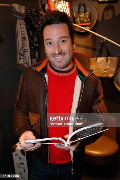 Jeremy Lorca attends Reem Kherici signs her book 'Diva' at the Barbara Rihl Boutique on November 8 2017 in Paris France