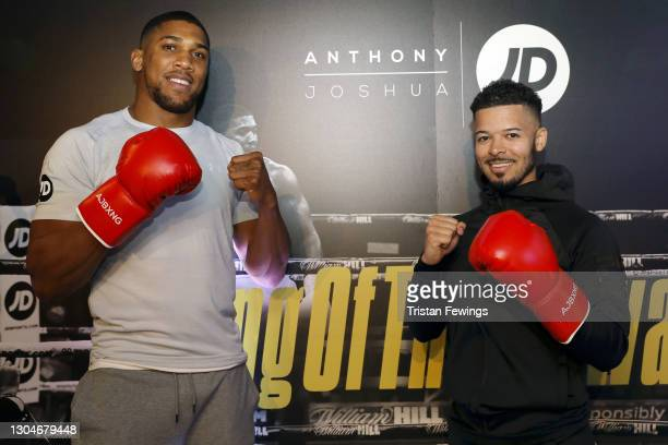 Jeremy Lynch attends as JD's Anthony Joshua hosts his #KingOfTheAirwaves radio show live on TikTok with a host of special guests including Munya...