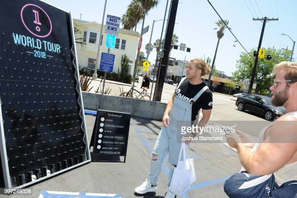 Jeremy Madix attends the HydraFacial World Tour Los Angeles on July 12 2018 in Venice California