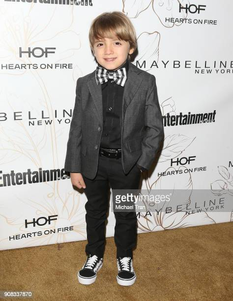Jeremy Maguire attends the Entertainment Weekly hosts celebration honoring nominees for The Screen Actors Guild Awards held on January 20 2018 in Los...