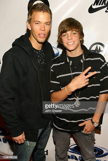 Jeremy McCassy and Ryan Sheckler during Ryan Sheckler and Paul Rodriguez Birthday Party with Metal Skool Hosted by Oakley at The Key Club in Los...
