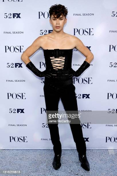 """Jeremy McClain attends the FX's """"Pose"""" Season 3 New York Premiere at Jazz at Lincoln Center on April 29, 2021 in New York City."""