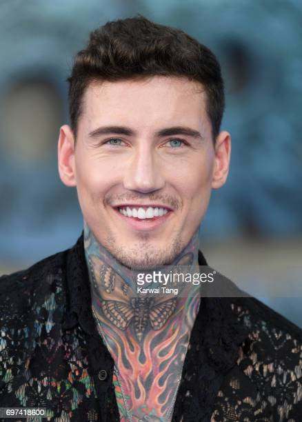 Jeremy McConnell attends the global premiere of 'Transformers The Last Knight' at Cineworld Leicester Square on June 18 2017 in London England