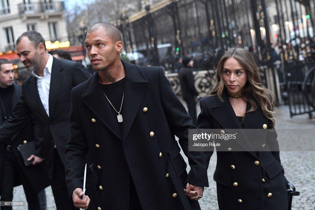 Balmain Homme : Outside Arrivals - Paris Fashion Week - Menswear F/W 2018-2019 : ニュース写真