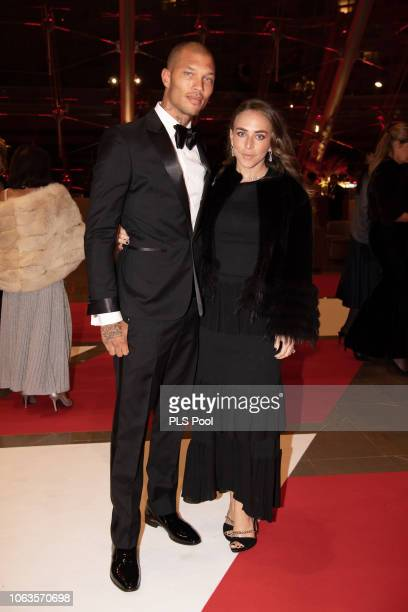 Jeremy Meeks and Chloe Green attend a Gala during Monaco National Day on November 19 2018 in MonteCarlo Monaco
