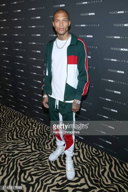 Jeremy Meeks arrives as Fashion Nova Presents: Party With Cardi at Hollywood Palladium on May 8, 2019 in Los Angeles, California.