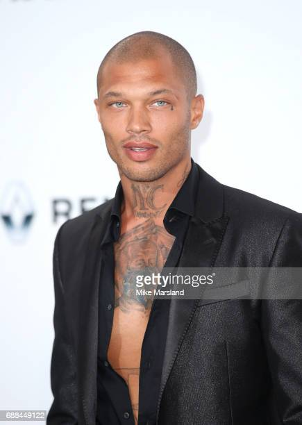 Jeremy Meeks arrives at the amfAR Gala Cannes 2017 at Hotel du Cap-Eden-Roc on May 25, 2017 in Cap d'Antibes, France.