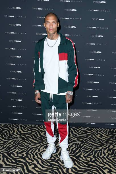 Jeremy Meeks attends the Fashion Nova x Cardi B Collection Launch Party at Hollywood Palladium on May 08, 2019 in Los Angeles, California.