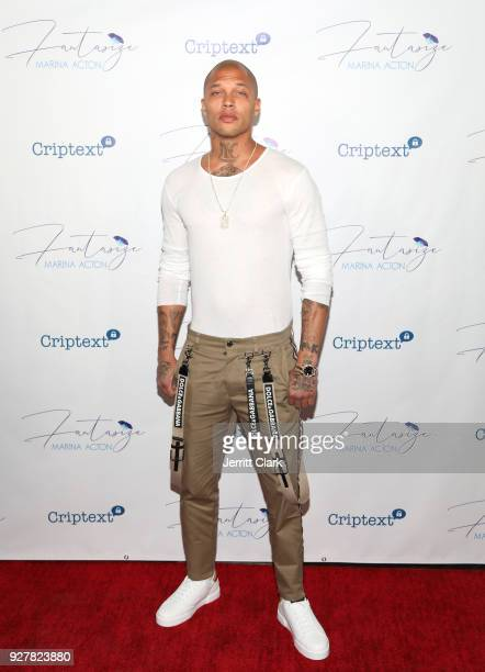 Jeremy Meeks attends The Release Of Marina Acton's New Single Fantasize at Boulevard3 on March 5 2018 in Hollywood California