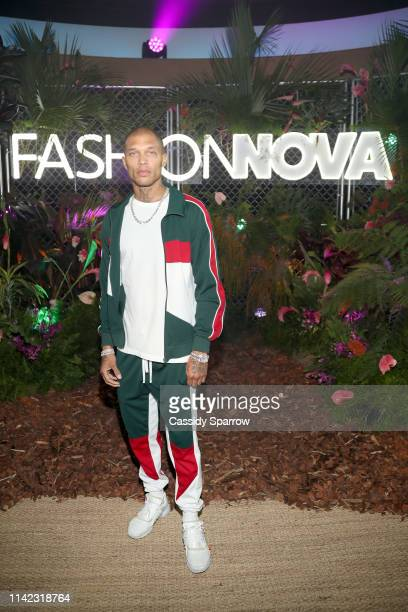 Jeremy Meeks is seen as Fashion Nova Presents: Party With Cardi at Hollywood Palladium on May 8, 2019 in Los Angeles, California.