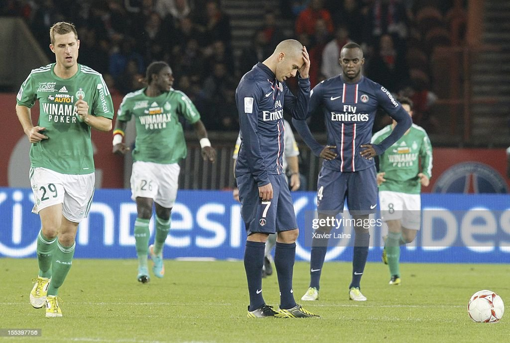 Paris Saint-Germain FC v AS Saint-Etienne - Ligue 1