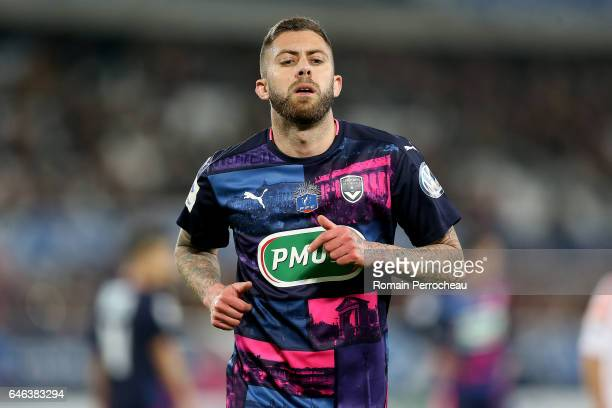 Jeremy Menez of Bordeaux looks on during a French cup match between Bordeaux and Lorient at Stade Matmut Atlantique on February 28 2017 in Bordeaux...
