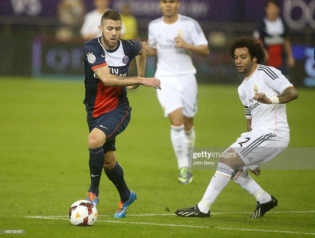 Paris Saint-Germain FC v Real Madrid - Friendly : News Photo