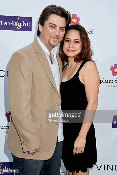 Jeremy Miller and Joanie Miller attend the 2011 Starlight Children's Foundation's Design and Wine Fundraiser at Kathy Hilton's residence on October...